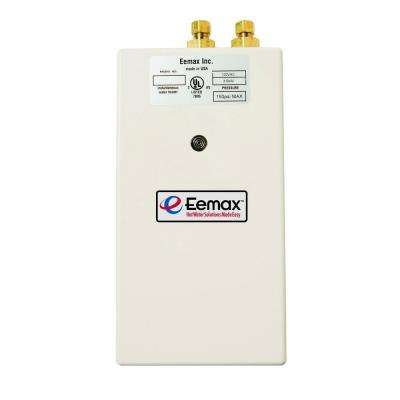 Single Point 3 5 Kw 120 Volt 0 M 2 0gpm Electric Tankless Water Heater