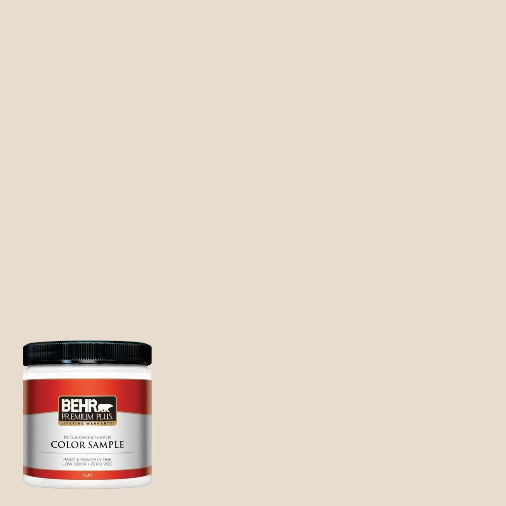 8 oz. #OR-W11 White Mocha Interior/Exterior Paint Sample