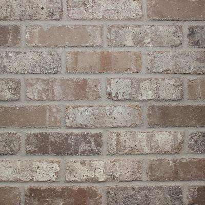 Brickwebb Sheets Flats Rushmore 28 in. x 10.5 in. x 13mm Clay Thin Brick Mesh-Mounted Mosaic Tile (8.7 sq. ft. / case)