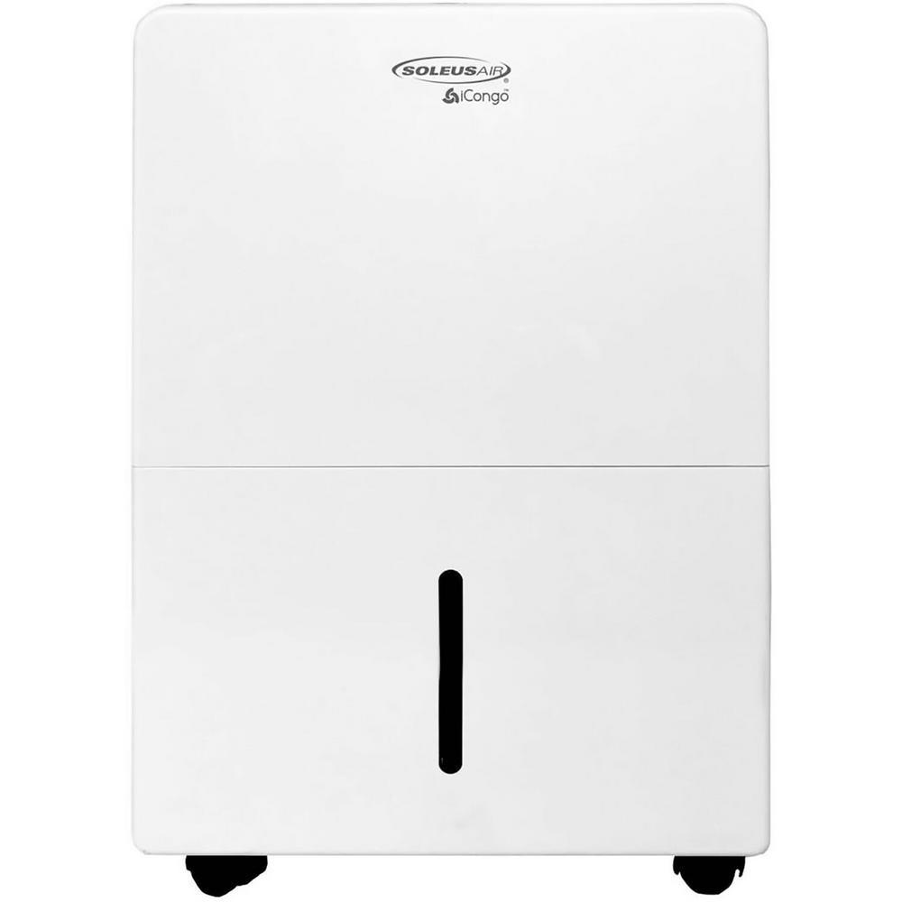 SoleusAir 30 pt. Portable Dehumidifier in White