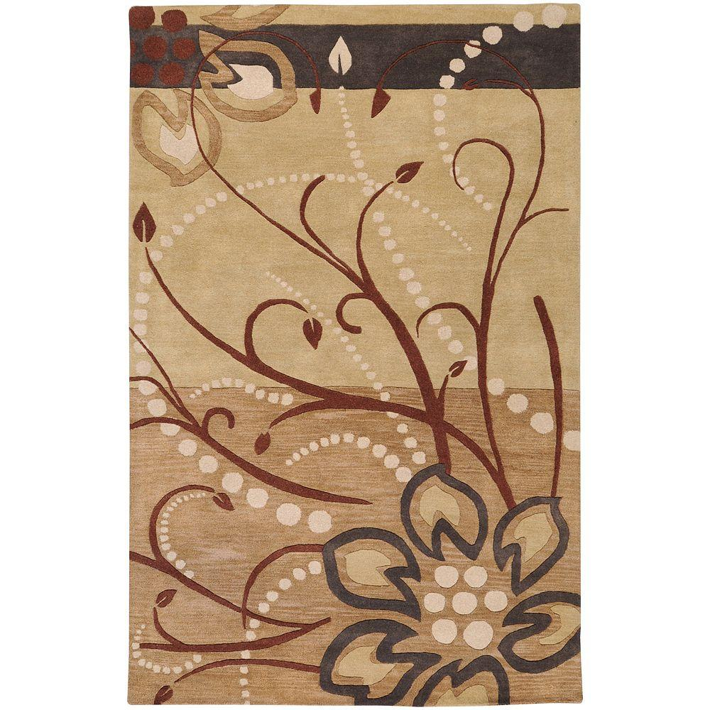 Artistic Weavers Fremont Tan 6 ft. x 9 ft. Area Rug