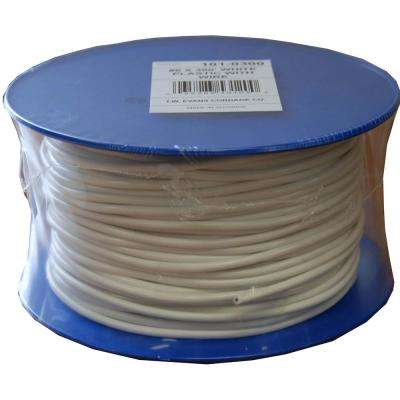 #6 - 3/16 in. x 300 ft. White Plastic With Wire