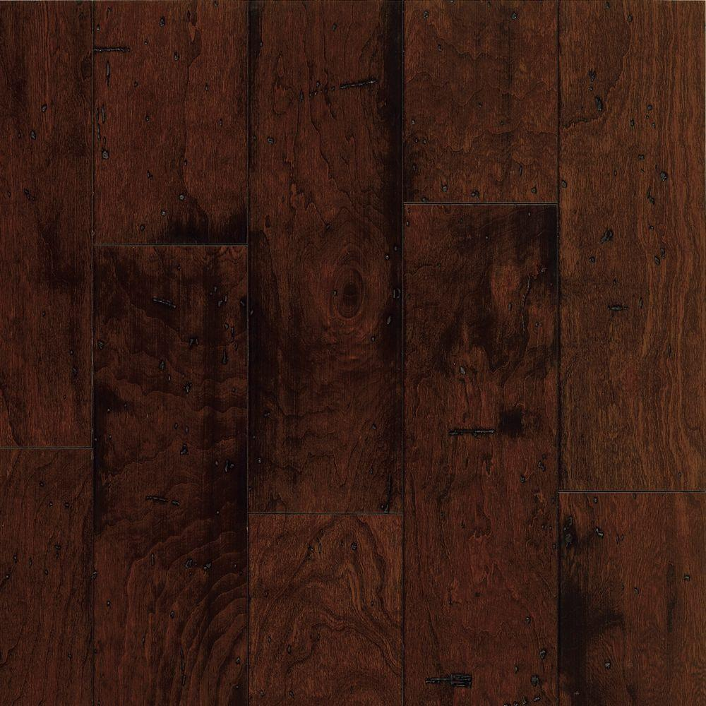 Bruce Cliffton Exotics 3/8 in. T x 5 in. W x Random Length Cherry Sangria Engineered Hardwood Flooring (28 sq. ft. / case)