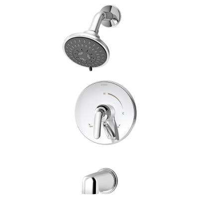 Elm Single-Handle Tub/Shower Valve Trim Kit in Chrome (Valve Not Included)