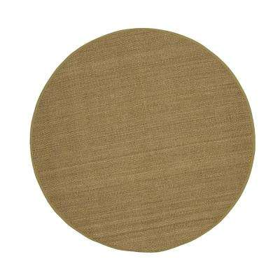 Seascape Natural 6 ft. x 6 ft. Round Area Rug