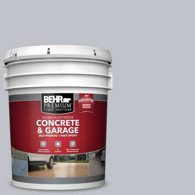 5 gal. #N510-2 Galactic Tint Self-Priming 1-Part Epoxy Satin Interior/Exterior Concrete and Garage Floor Paint