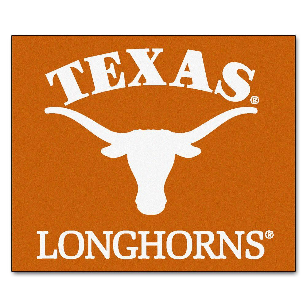 FANMATS University of Texas 5 ft. x 6 ft. Tailgater Rug