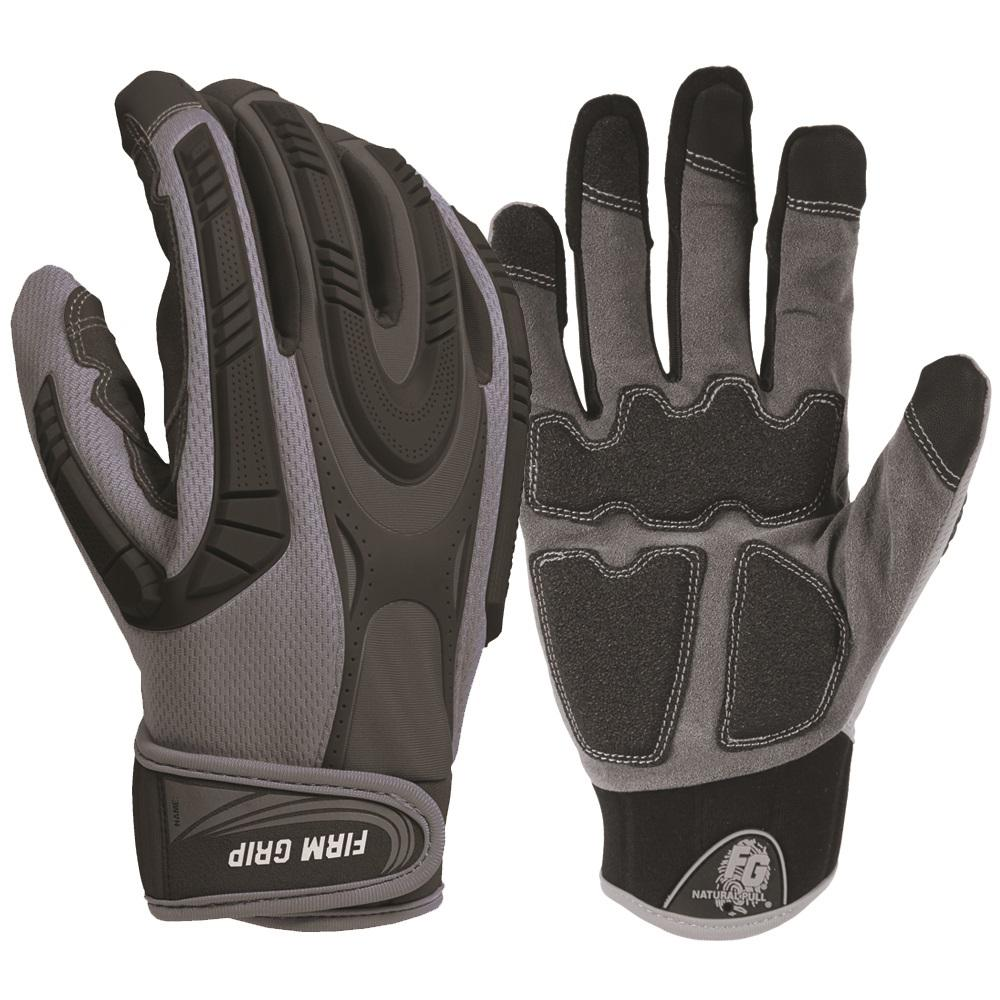 2188ee67d Firm Grip Pro Protect Heavy Duty X-Large Gloves with Touchscreen