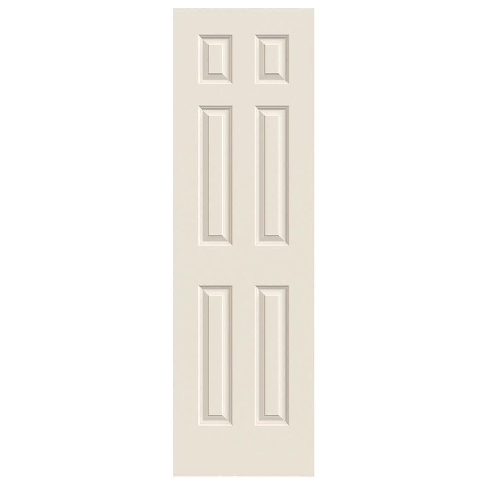 Jeld Wen 30 In X 78 In Cambridge Primed Smooth Molded Composite Mdf Interior Door Slab