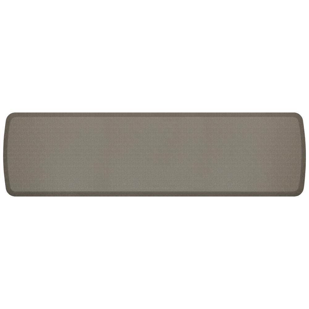 GelPro Elite Linen Granite Grey 20 in. x 72 in. Comfort Kitchen Mat