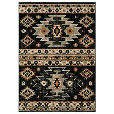 4 X 6 Multi Colored Brown Area Rugs Rugs The
