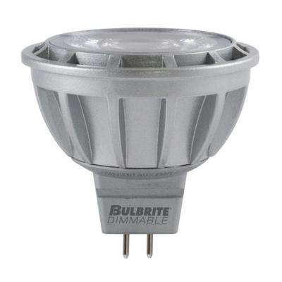 50W Equivalent Warm White Light MR16 Dimmable LED Flood Title 24 Compliant Light Bulb