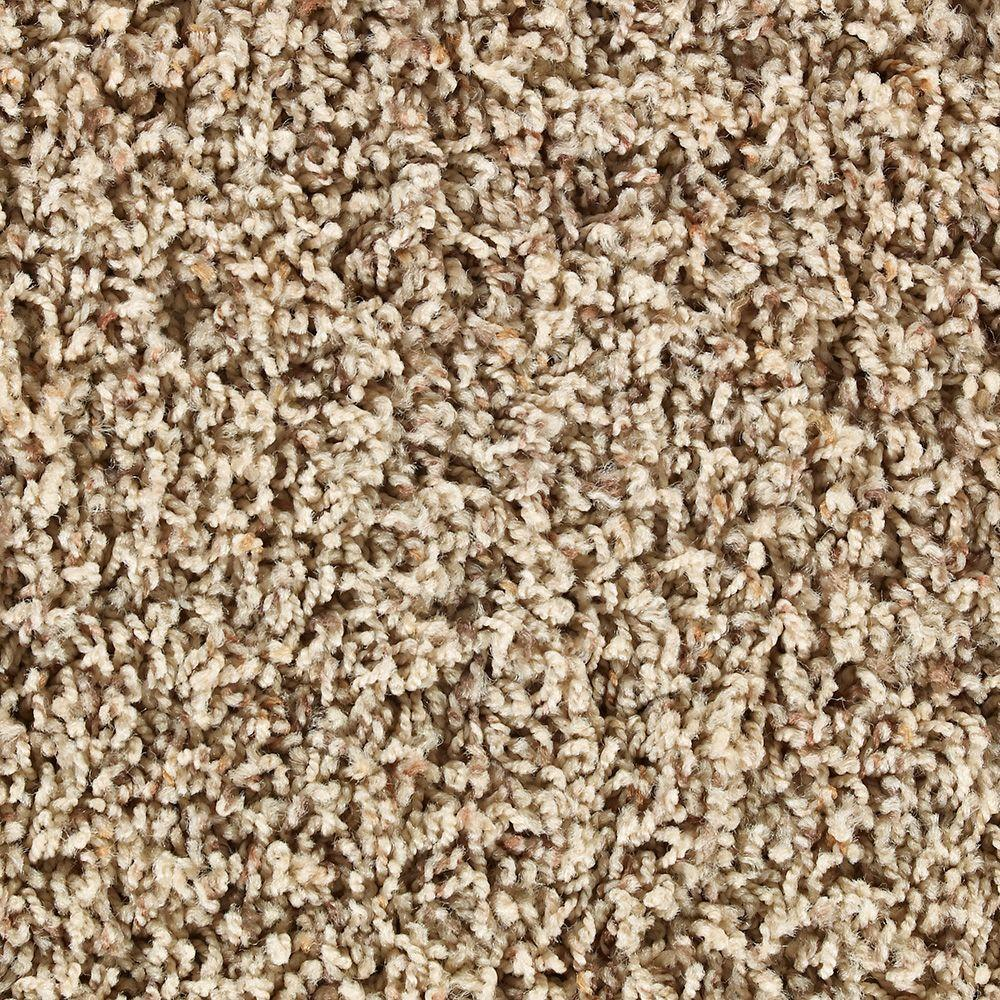 Martha Stewart Living La Paz Brown Alpaca Tonal - 6 in. x 9 in. Take Home Carpet Sample