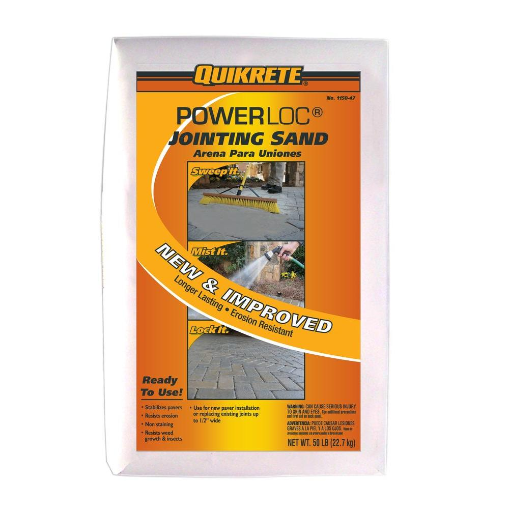 PowerLoc Jointing Sand 115047   The Home Depot