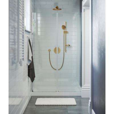 Voltaire 36 in. x 48 in. Single-Threshold, Shower Base in White