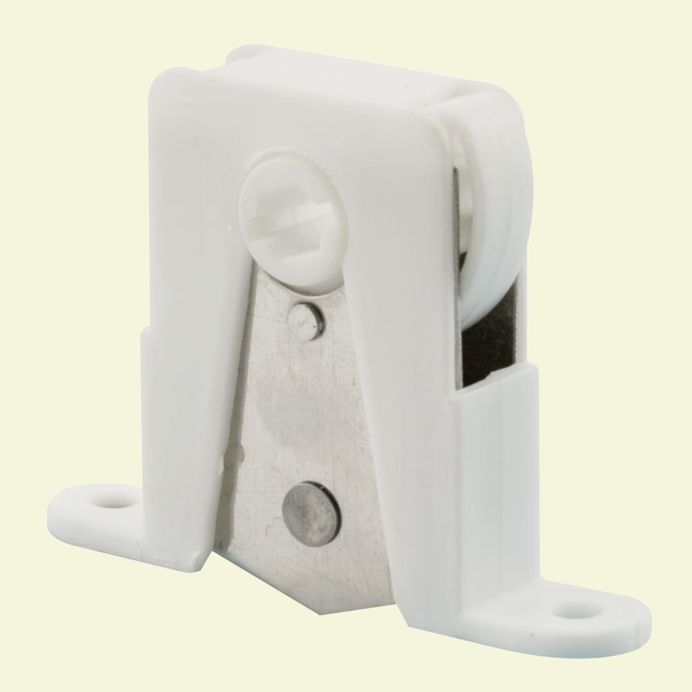 Prime Line White Plastic Housing With Stainless Steel