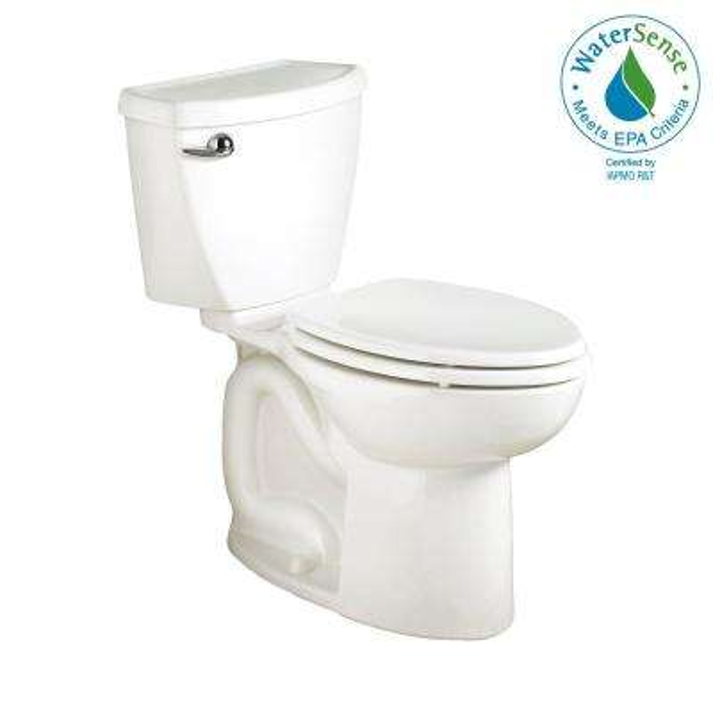 Cadet 3 PowerWash High-Efficiency 2-piece 1.28 GPF Single Flush Elongated Toilet in White