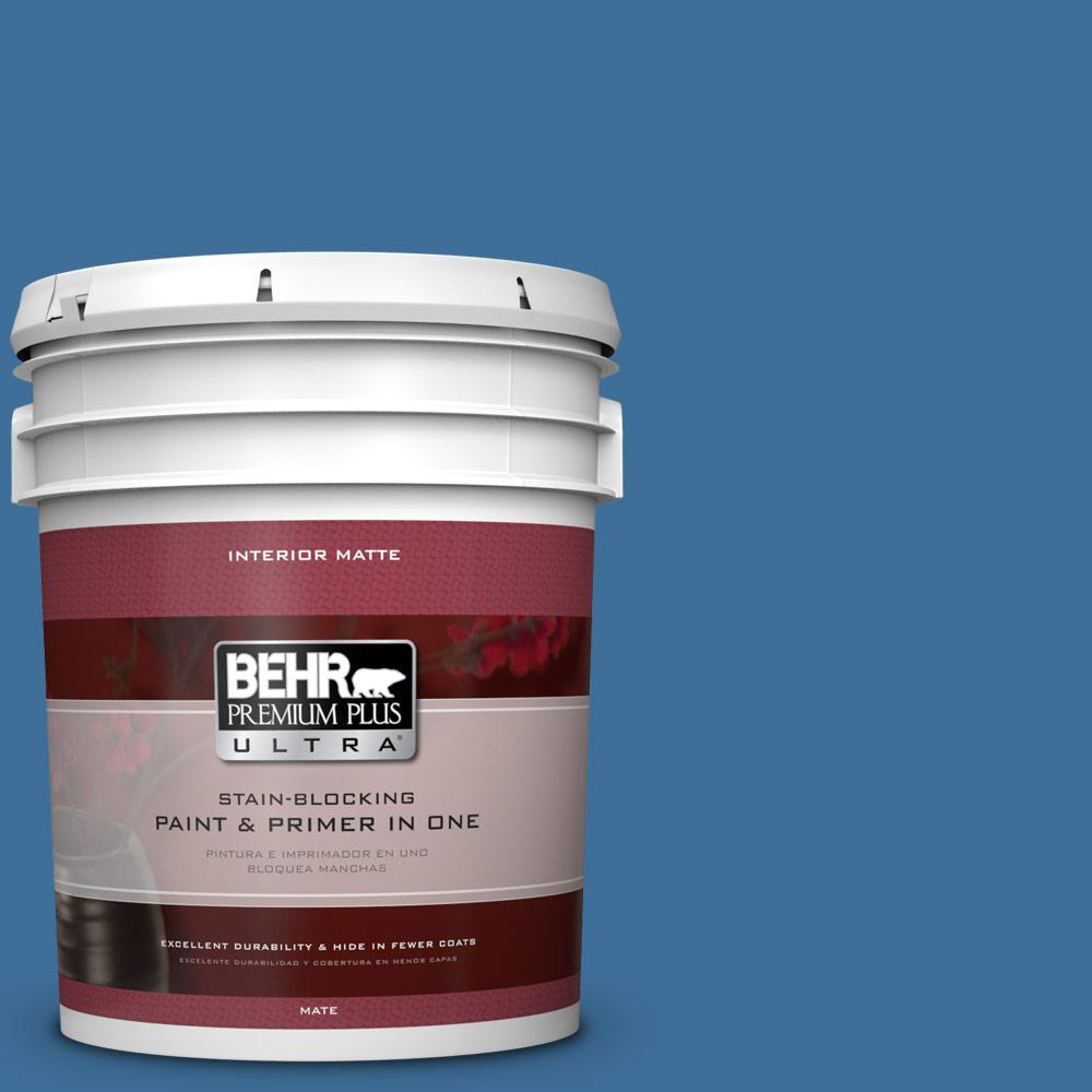 BEHR Premium Plus Ultra 5 gal. #M520-6 National Anthem Matte Interior Paint