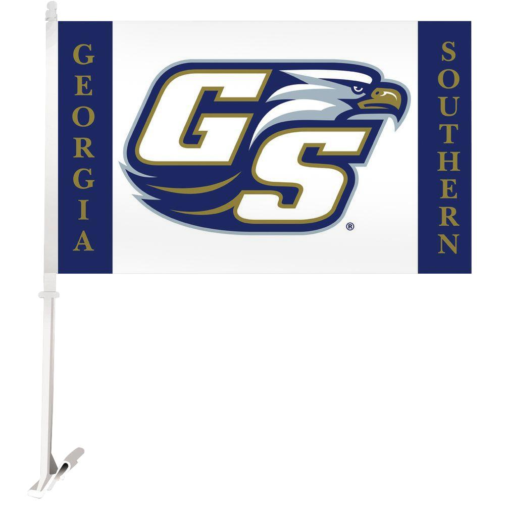 NCAA 11 in. x 18 in. Georgia Southern 2-Sided Car Flag