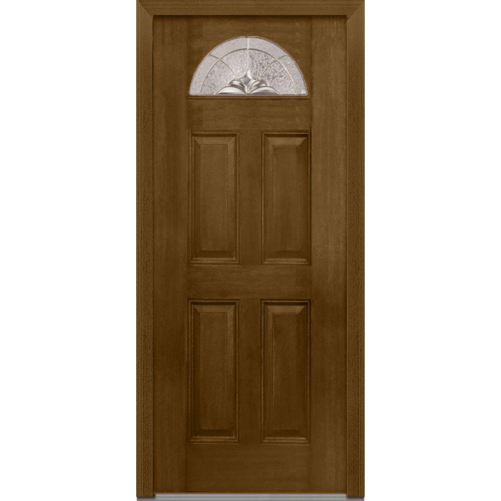 MMI Door 32 In. X 80 In. Heirloom Master Decorative Glass 1/4