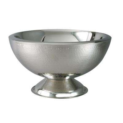 3 Gal. Stainless Steel Punch Bowl with Double Wall Insulation