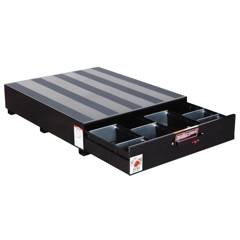 Weather Guard Steel Pack Rat Drawer Unit in Black
