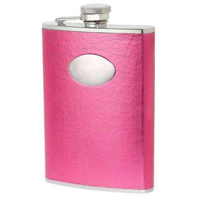 Marilia Hot Pink 8 oz. Flask