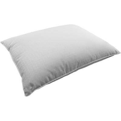 400TC Dobby Dot Down Filled Pillow All Position Sleepers Standard