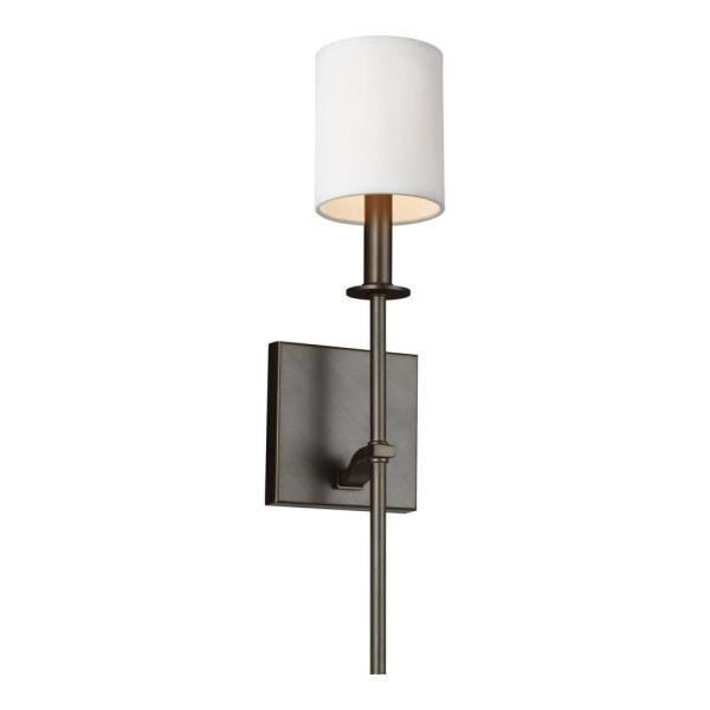 Hewitt 1-Light Antique Bronze Sconce