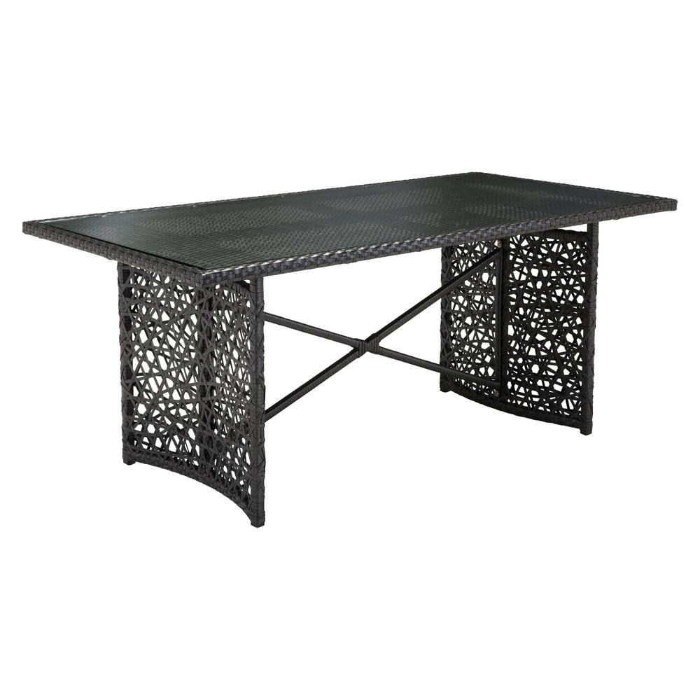 Zuo Santa Cruz Aluminum Outdoor Dining Table 703819 The