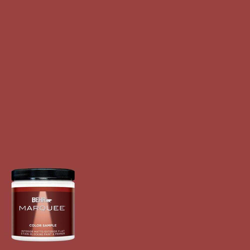Mq1 10 Red My Mind One Coat Hide Matte Interior Exterior Paint And Primer In Sample