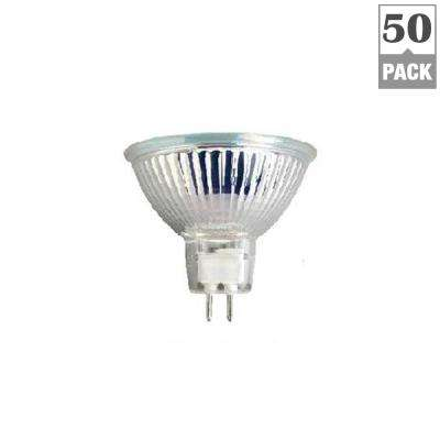 35-Watt MR16 G5.3 Bi-Pin Base Halogen Light Bulbs (50-Pack)