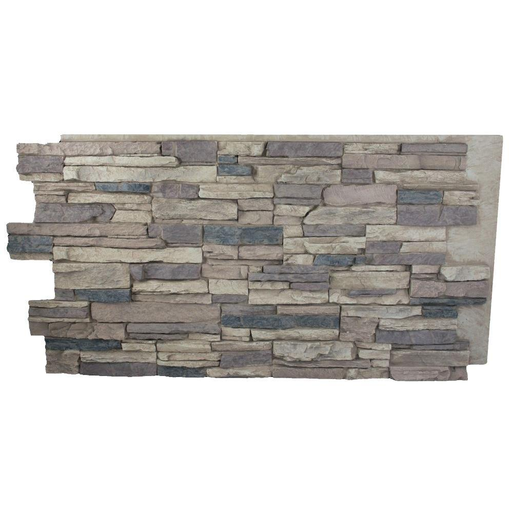 Superior Building Supplies Faux Grand Heritage 24 in. x 48 in. x 1 ...