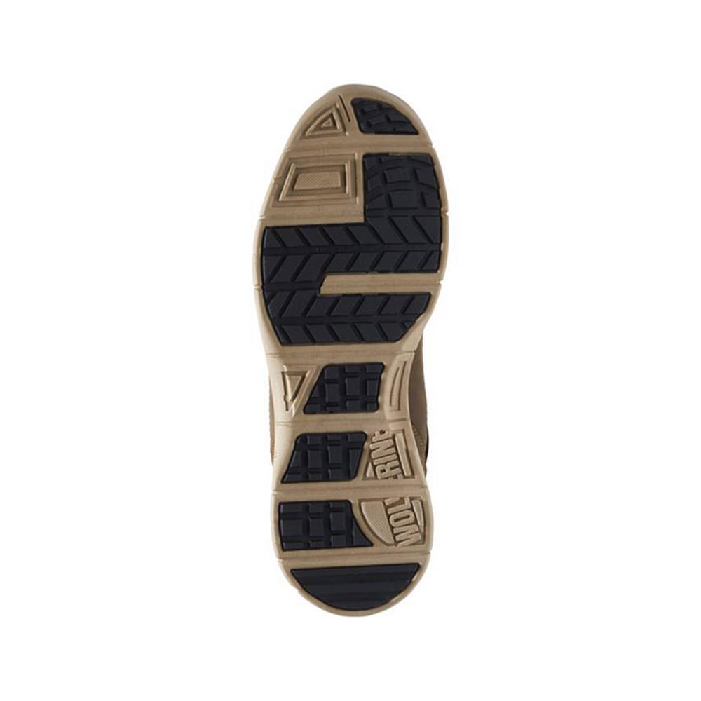 530efc47afa Wolverine Men's Rigger 8.5EW Brown Full-Grain Leather Waterproof Composite  Toe 6