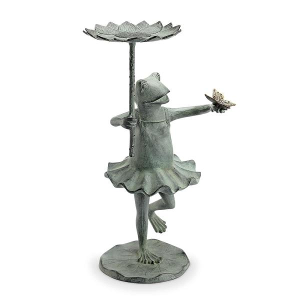 Frog Ballerina Bird Feeder