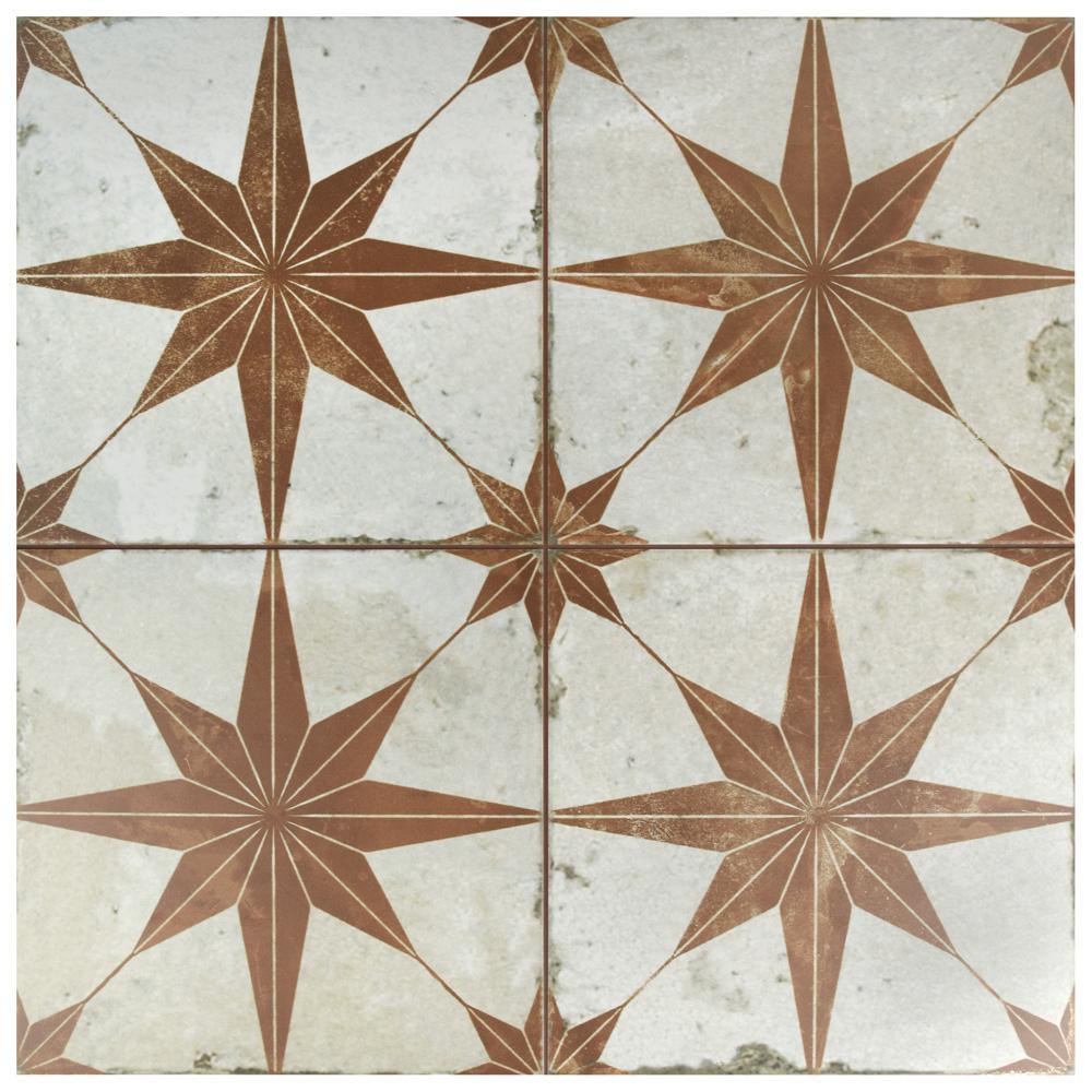 Merola Tile Kings Star Oxide In X In Ceramic Floor - Ceramic tile star designs