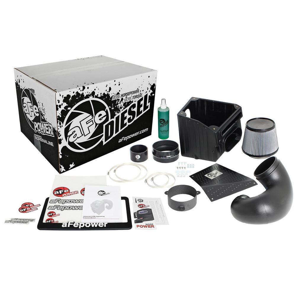 Diesel Elite Stage-2 Si Pro DRY S Cold Air Intake System for Dodge Diesel Trucks 94-02 L6-5.9L (td)