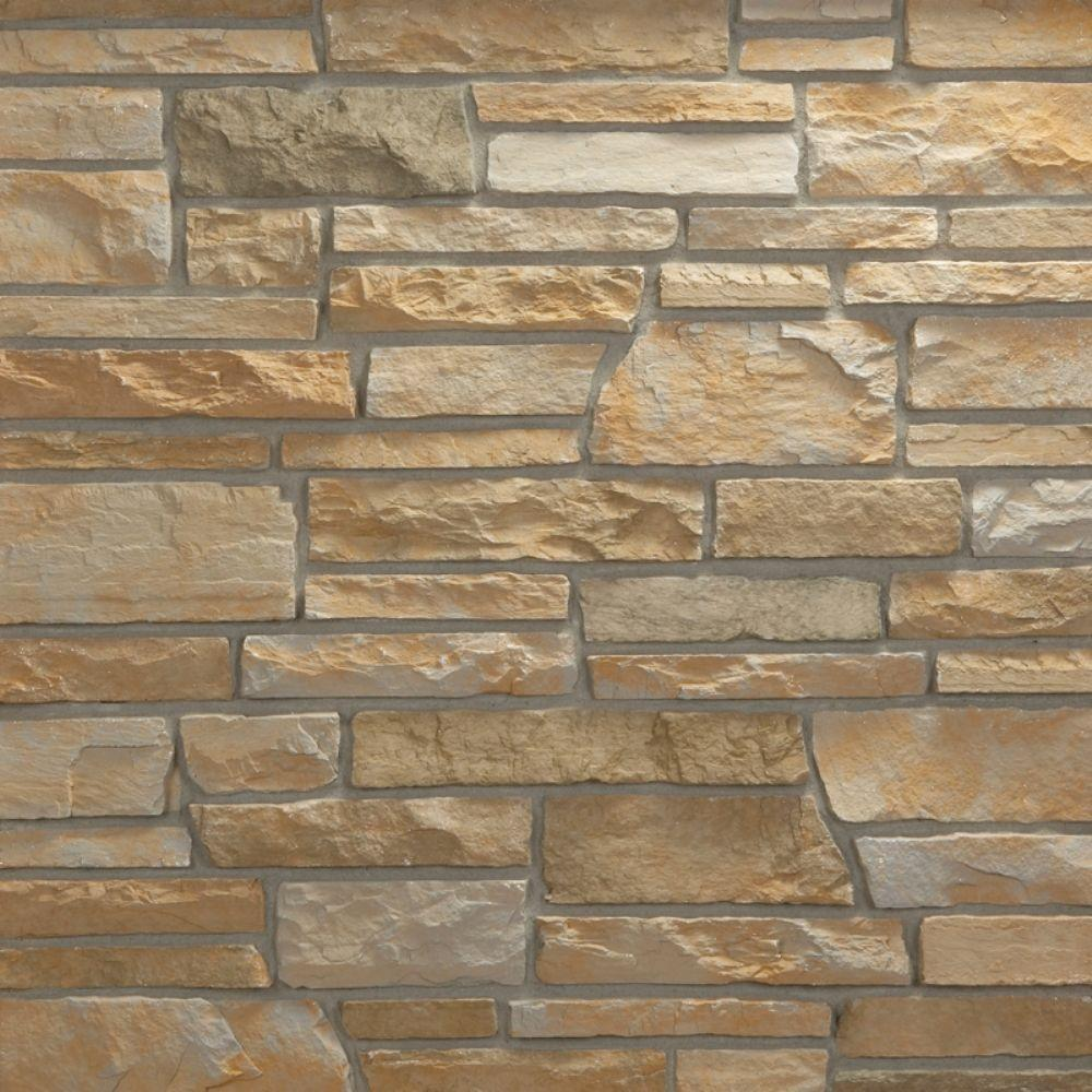 Veneerstone Pacific Ledge Stone Cascade Corners 10 lin. ft. Handy Pack Manufactured Stone