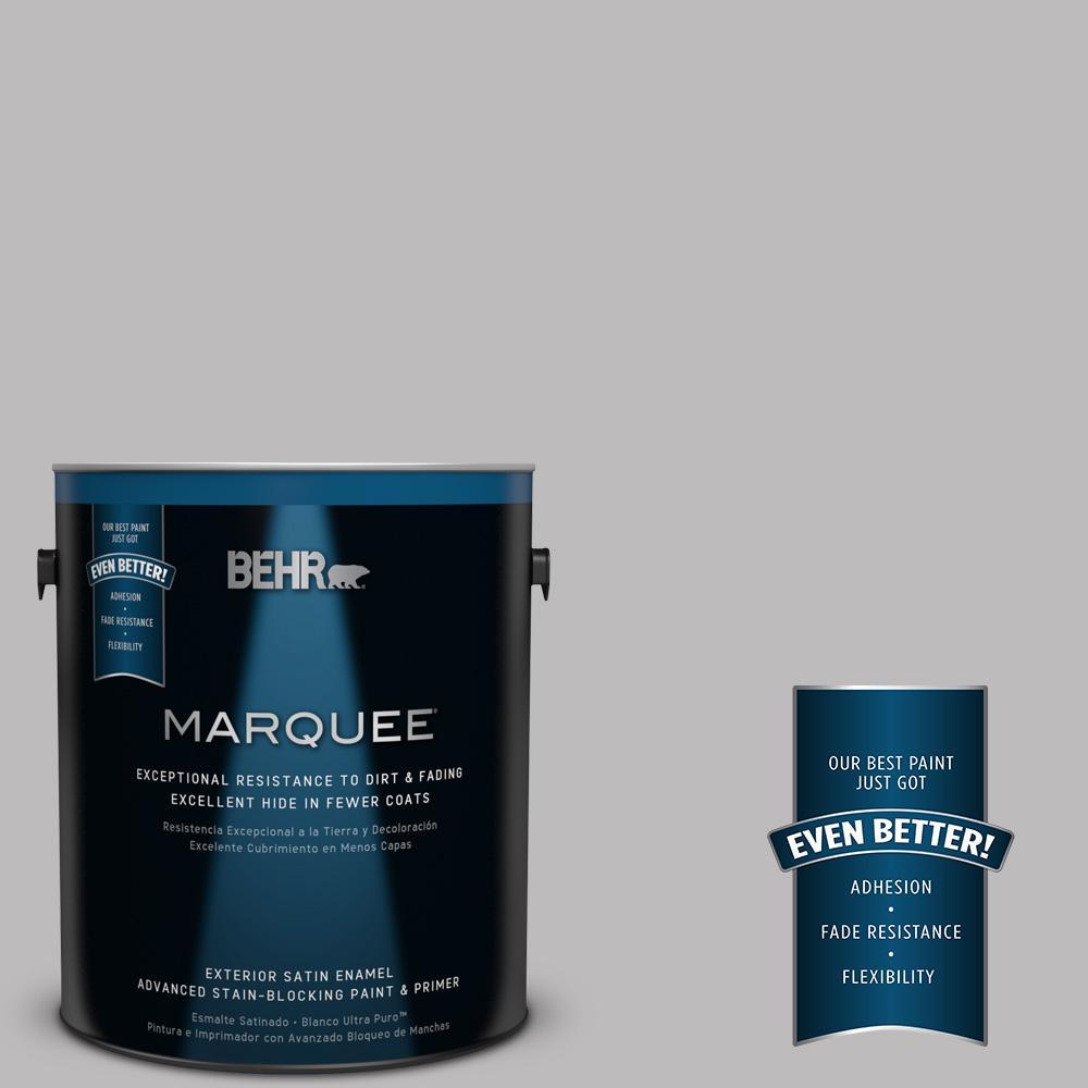 BEHR MARQUEE 1-gal. #PPU16-11 Grape Creme Satin Enamel Exterior Paint
