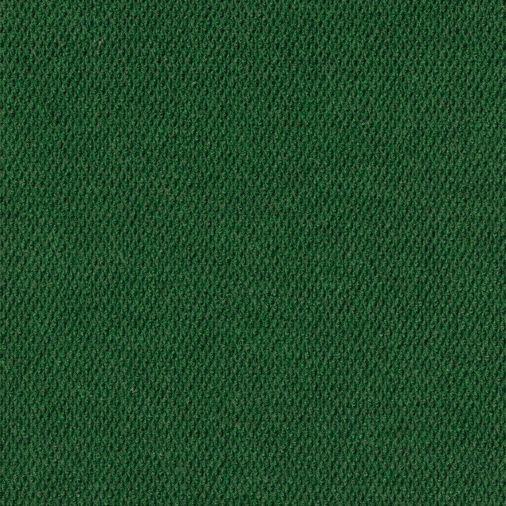 Design Smart Heather Green Hobnail Texture 18 in. x 18 in. Indoor/Outdoor Carpet Tile (10 Tiles/22.5 sq. ft./case)