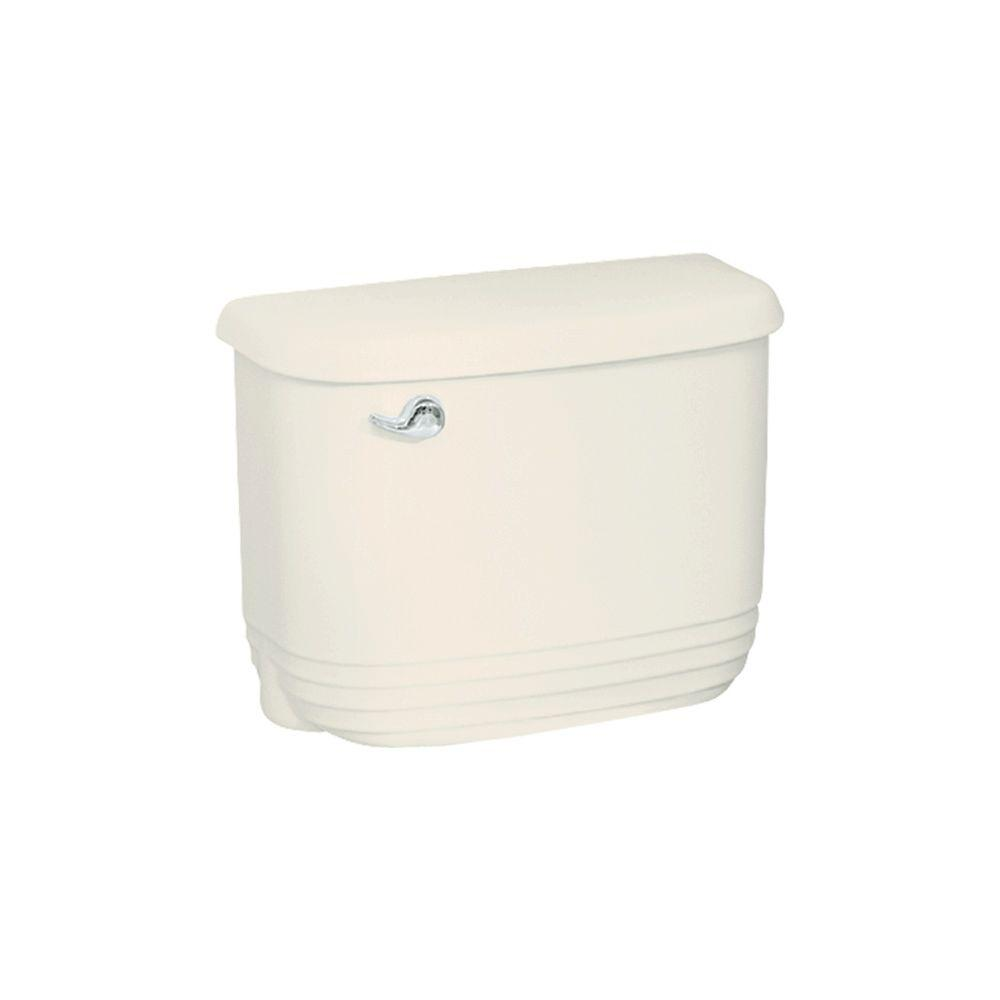null Riverton Toilet Tank Only in Biscuit