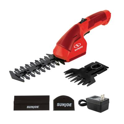 7.2-Volt Cordless 2-in-1 Grass Shear and Hedge Trimmer, Red