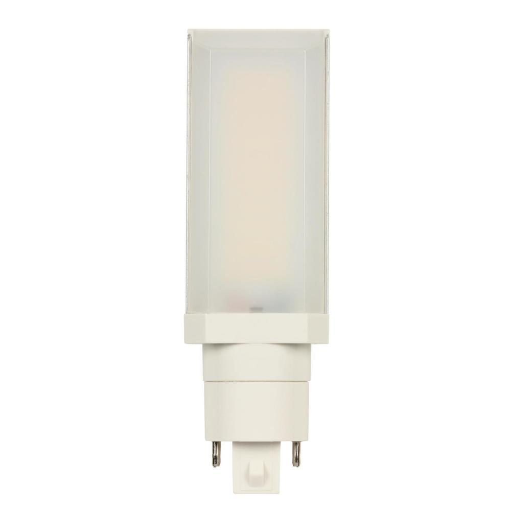 Westinghouse 26 Watt Equivalent Hpl Horizontal Direct Install Dimmable 3500k G24q Gx24q 4 Pin Led Light Bulb 1 Bulb 5148000 The Home Depot