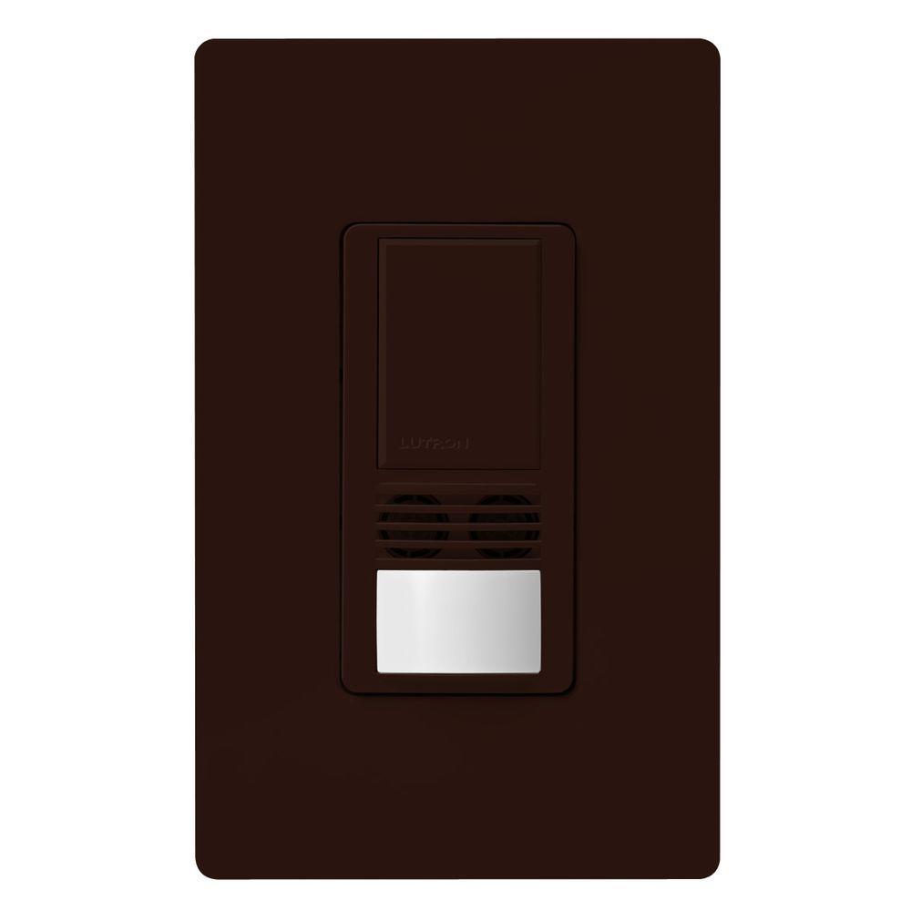 Maestro Dual-Tech Motion Sensor switch, 6-Amp, Single-Pole, Brown