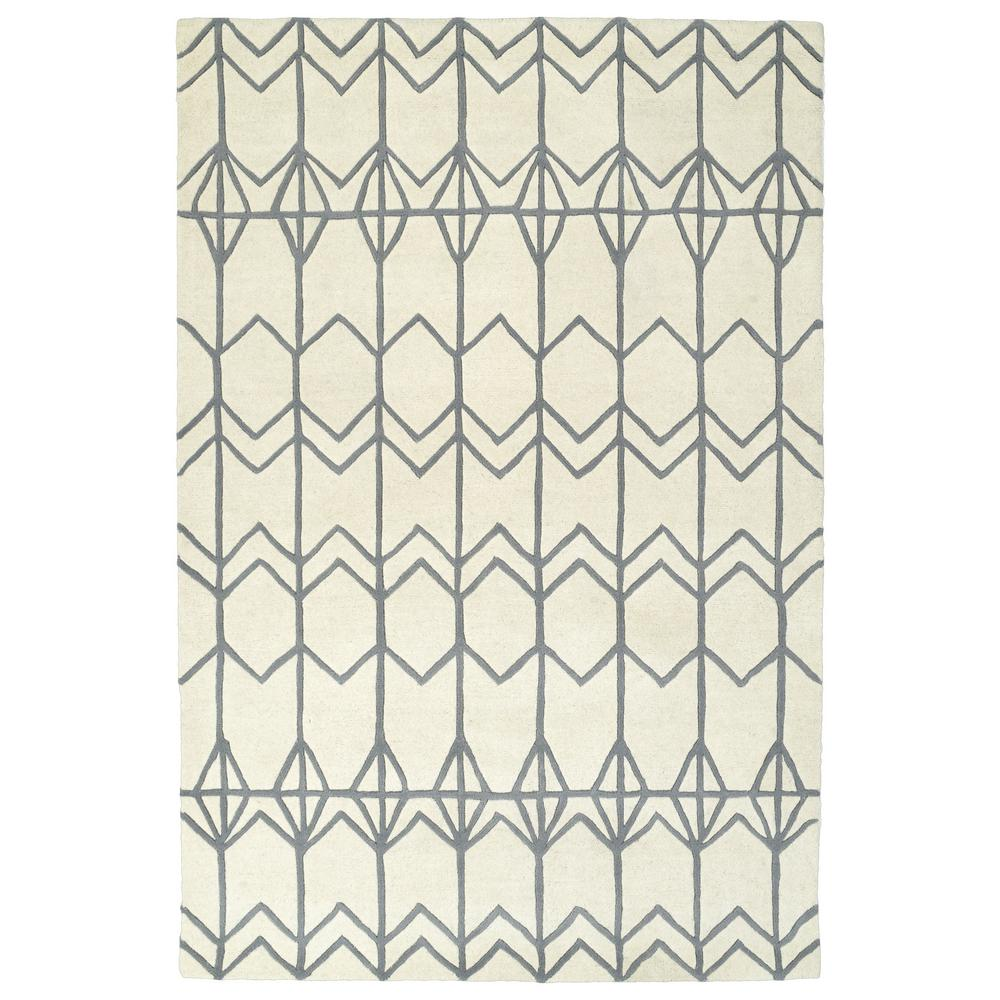 Origami Ivory 2 ft. x 3 ft. Area Rug