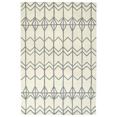 Origami Ivory 8 ft. x 10 ft. Area Rug