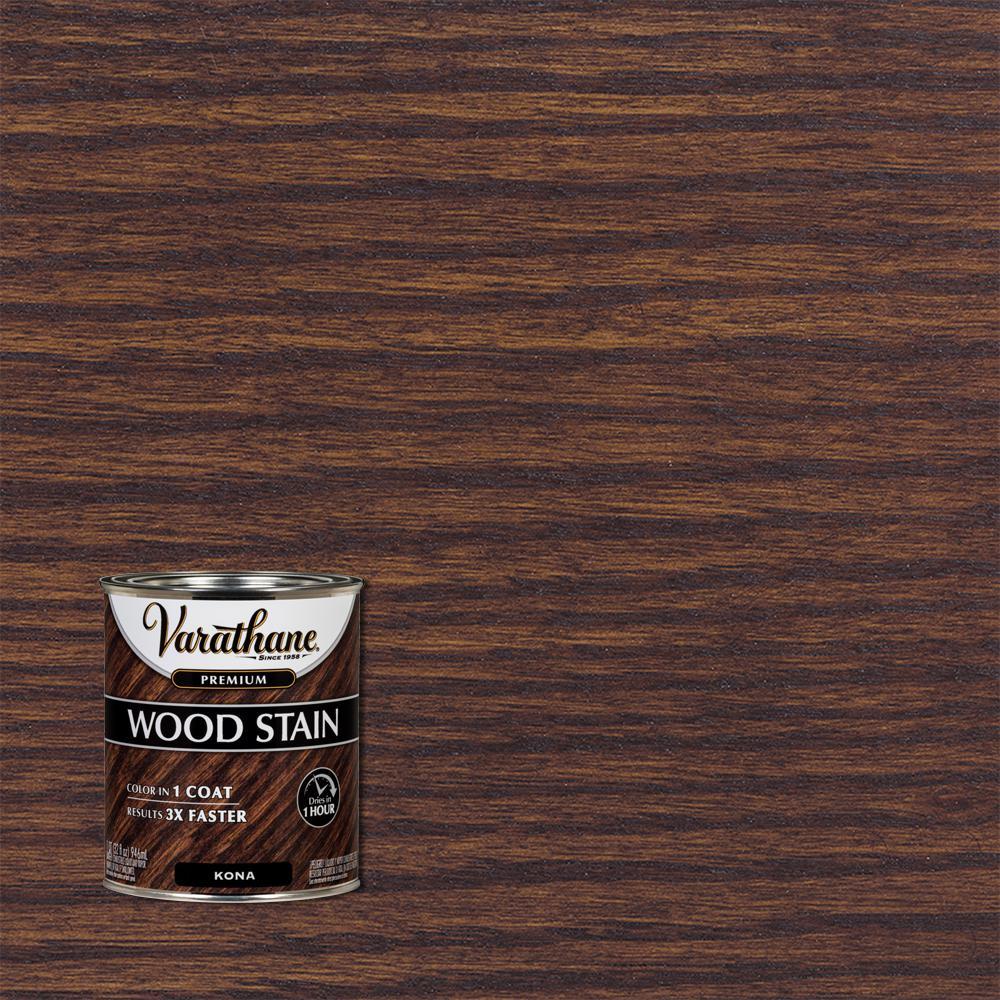 1 qt. Kona Premium Fast Dry Interior Wood Stain
