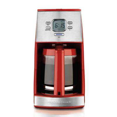 12-Cup Red ensemble Coffee Maker
