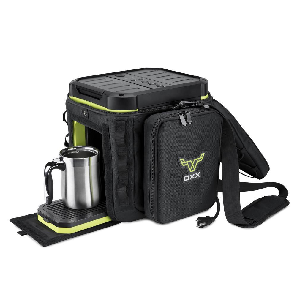 COFFEEBOXX Special Ops Black Coffee Maker Field Case