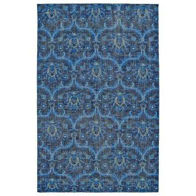 Relic Blue 9 ft. x 12 ft. Area Rug